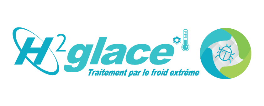 Logo H²glace PNG