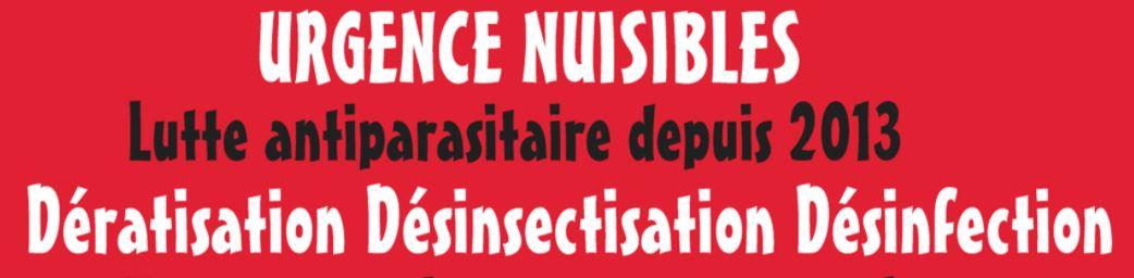 Logo Urgence Nuisibles - partenaire H2glace